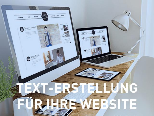Motiv: Websitetexte